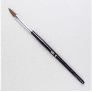 Zwarte-penseel-nummer-ovaal-8