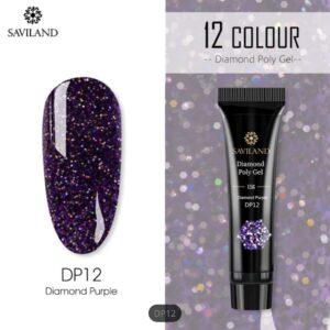 Polygel-color-diamond-purple