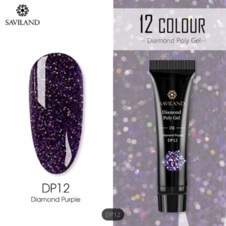 Polygel-color-diamond-purple